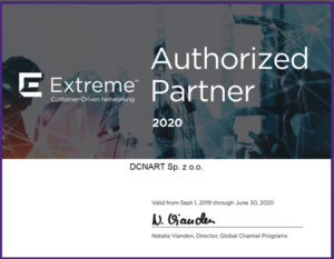 Extreme Authorized Partner